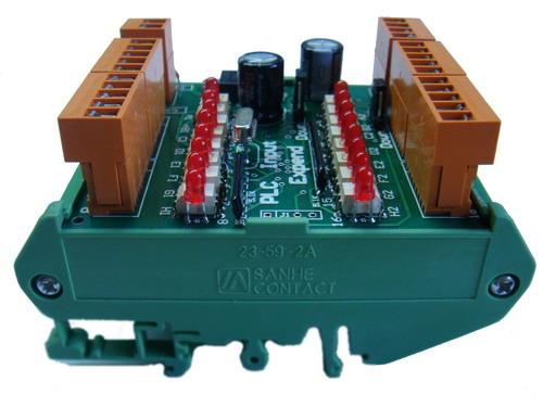 plc输入端口扩展模块